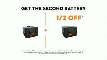 STIHL TV Spot, 'Real STIHL: AK Battery Set' - 61 commercial airings