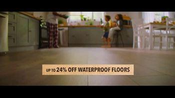 Lumber Liquidators TV Spot, 'Up to 24 Percent Off Waterproof Floors' - Thumbnail 3