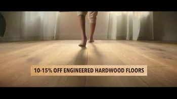 Lumber Liquidators TV Spot, 'Up to 24 Percent Off Waterproof Floors' - Thumbnail 5