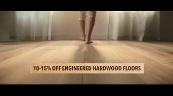 Lumber Liquidators TV Spot, 'Up to 24 Percent Off Waterproof Floors' - Thumbnail 6