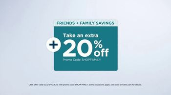 Kohl's Friends + Family Sale TV Spot, 'Denim, Shoes and Blankets' - Thumbnail 3