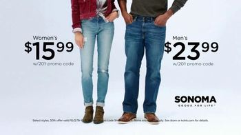 Kohl's Friends + Family Sale TV Spot, 'Denim, Shoes and Blankets' - Thumbnail 4