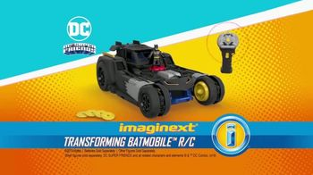 Imaginext Transforming Batmobile TV Spot, 'Transform Into Battle' - Thumbnail 7