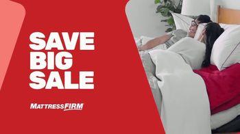 Mattress Firm Save Big Sale TV Spot, 'Save up to $400'