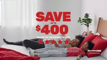 Mattress Firm Save Big Sale TV Spot, 'Save up to $400' - Thumbnail 3