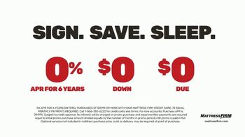 Mattress Firm Save Big Sale TV Spot, 'Save up to $400' - Thumbnail 4