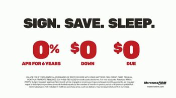 Mattress Firm Save Big Sale TV Spot, 'Save up to $400' - Thumbnail 6