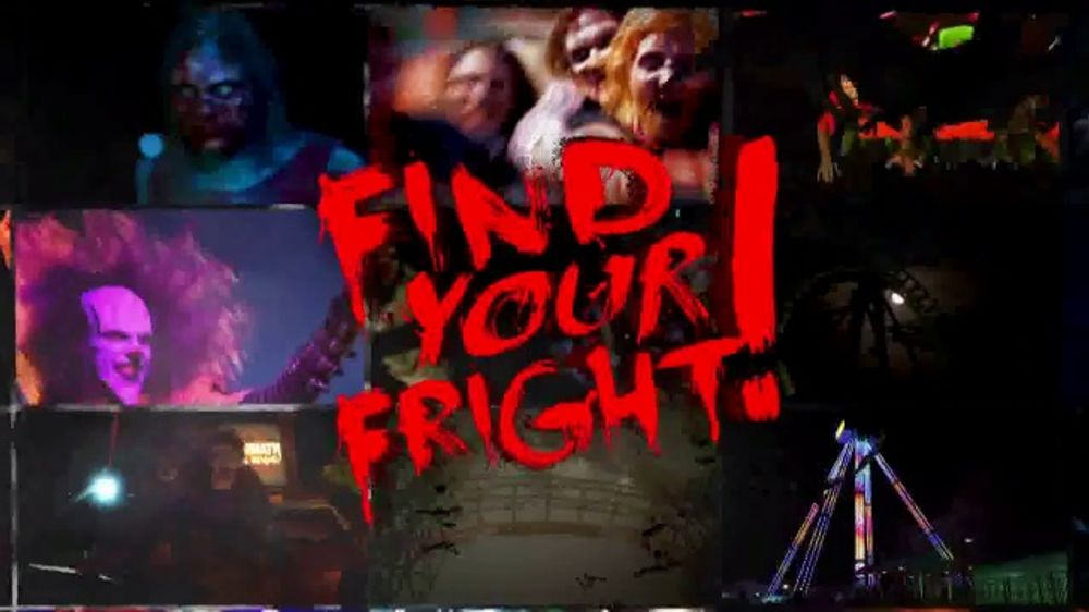 Six Flags Fright Fest TV Commercial, 'Nowhere to Hide'