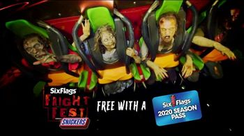 Six Flags Fright Fest TV Spot, 'Nowhere to Hide' - Thumbnail 4