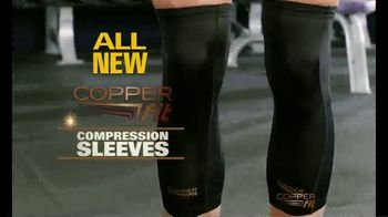 Copper Fit Freedom Compression Sleeves TV Spot, 'Feels Good' - Thumbnail 1