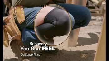 Copper Fit Freedom Compression Sleeves TV Spot, 'Feels Good' - Thumbnail 3