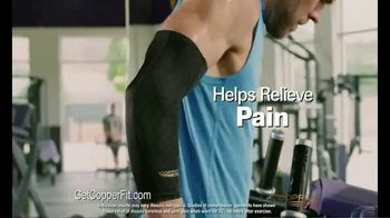 Copper Fit Freedom Compression Sleeves TV Spot, 'Feels Good' - Thumbnail 7