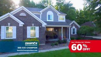 Champion Windows TV Spot, 'To-Do List: BOGO 60 Percent Off' - Thumbnail 4