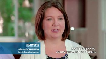 Champion Windows TV Spot, 'To-Do List: BOGO 60 Percent Off' - Thumbnail 6