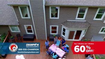Champion Windows TV Spot, 'To-Do List: BOGO 60 Percent Off' - Thumbnail 8