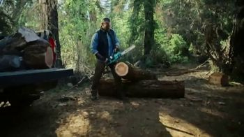 Makita TV Spot, 'Rule the Outdoors: Chainsaw and Blower'