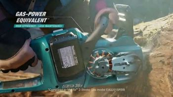 Makita TV Spot, 'Rule the Outdoors: Chainsaw and Blower' - Thumbnail 3