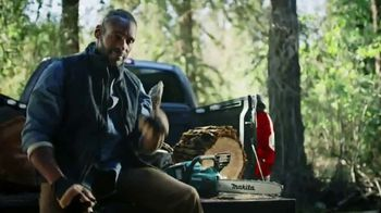 Makita TV Spot, 'Rule the Outdoors: Chainsaw and Blower' - Thumbnail 7