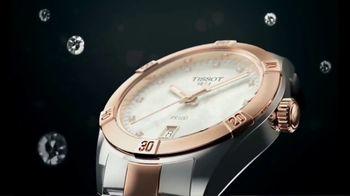 Tissot PR 100 Lady Small TV Spot, 'Official Watch' - Thumbnail 1