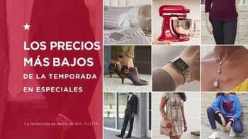Macy's TV Spot, 'Los precios más bajos de la temporada: ropa y mezcladoras' [Spanish] - Thumbnail 1