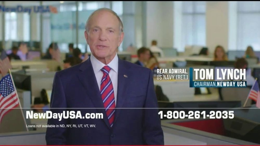 NewDay USA TV Commercial, 'Record Lows'