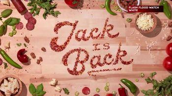 Donatos Spicy Jack Pizza TV Spot, 'Jack Is Back'