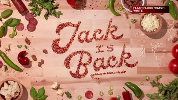 Donatos Spicy Jack Pizza TV Spot, 'Jack Is Back'