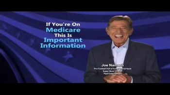 Medicare Coverage Helpline TV Spot, \'Get What You Deserve\' Featuring Joe Namath