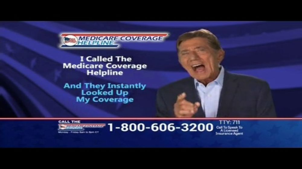Medicare Coverage Helpline TV Commercial, 'Get What You Deserve' Featuring Joe Namath