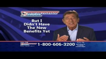 Medicare Coverage Helpline TV Spot, 'Get What You Deserve' Featuring Joe Namath - Thumbnail 5