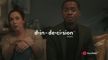OpenTable TV Spot, 'End Din-Decision: Date Night' - Thumbnail 4