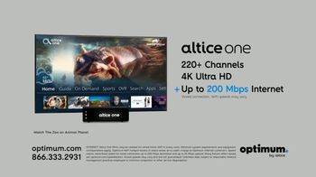 Optimum Altice One + Internet Price for Life TV Spot, 'Changes' - Thumbnail 3