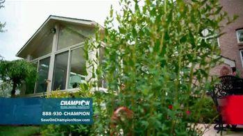 Champion Windows Sunroom TV Spot, 'Season of Change' - Thumbnail 8