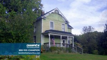 Champion Siding TV Spot, 'Transform Your Home' - Thumbnail 1