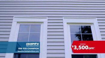 Champion Siding TV Spot, 'Transform Your Home' - Thumbnail 2