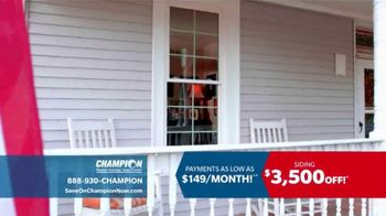 Champion Siding TV Spot, 'Transform Your Home'