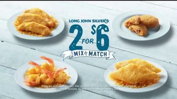 Long John Silver's 2 for $6 Mix & Match TV Spot, 'No Tough Choices' - Thumbnail 8