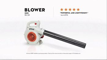 STIHL TV Spot, 'Real STIHL: Blower and Chain Saw' Song by Sacha James Collisson - Thumbnail 5