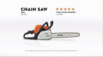 STIHL TV Spot, 'Real STIHL: Blower and Chain Saw' Song by Sacha James Collisson - Thumbnail 6