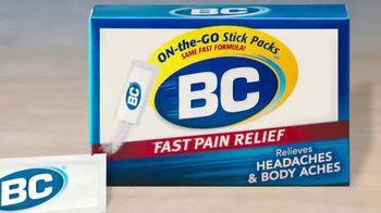 BC Headache Powder TV Spot, 'Headaches and Cold Pain' - Thumbnail 4