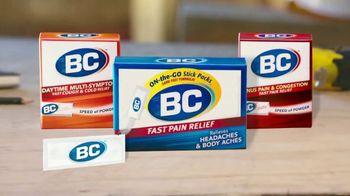 BC Headache Powder TV Spot, 'Headaches and Cold Pain' - Thumbnail 5