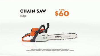 STIHL TV Spot, 'Real Stihl: Save $60 and MS 250 Chainsaw for $299' - Thumbnail 7