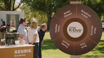 Keurig K-Duo TV Spot, 'Spinner: Breakfast in Bed' Featuring James Corden - Thumbnail 4