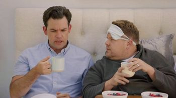 Keurig K-Duo TV Spot, 'Spinner: Breakfast in Bed' Featuring James Corden
