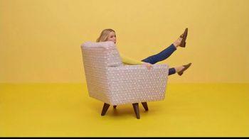 La-Z-Boy Columbus Day Sale TV Spot, 'Swivel' Featuring Kristen Bell - Thumbnail 1