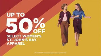 JCPenney Super Saturday Sale TV Spot, 'Make Room: St. John's Bay and Home Items' - Thumbnail 5