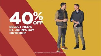 JCPenney Super Saturday Sale TV Spot, 'Make Room: St. John's Bay and Home Items' - Thumbnail 6