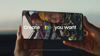Samsung Galaxy TV Spot, 'Create What You Want' Song by Sofi Tukker - Thumbnail 9