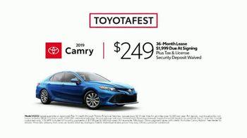 Toyotafest TV Spot, 'Favorite Features' [T2] - Thumbnail 5
