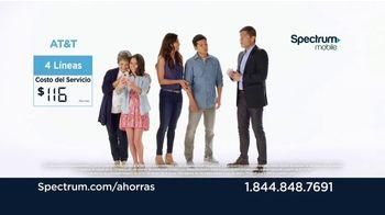 Spectrum Mobile TV Spot, 'Familia' [Spanish] - Thumbnail 4